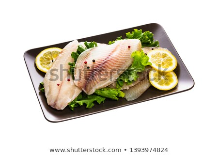 raw fish on board Stock photo © M-studio