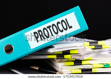 Approved Concept with Word on Folder. Stock photo © tashatuvango