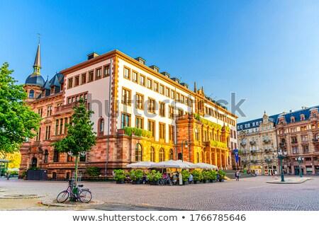Old Rathaus in Wiesbaden  Stock photo © benkrut