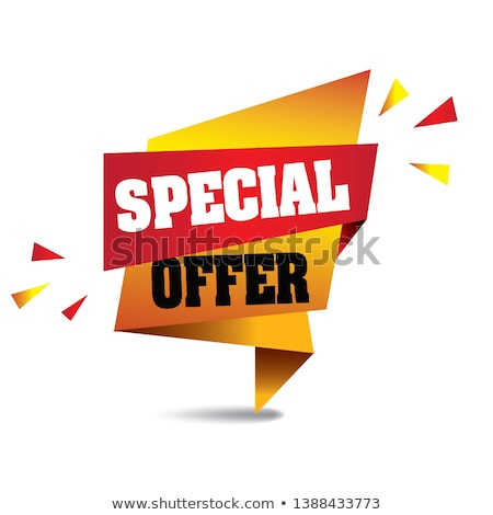 Weekend Offer Yellow Vector Icon Button Stock photo © rizwanali3d