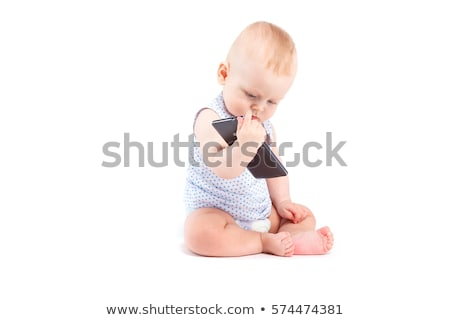 cute happy little boy in speckled shirt Stock photo © Traimak