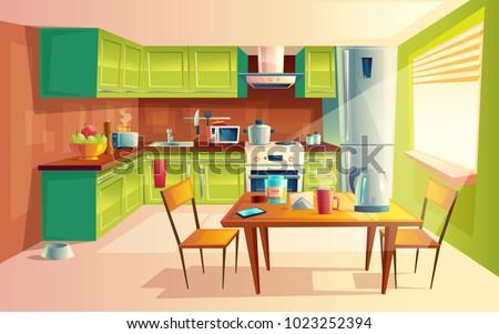 Bouilloire cuisine arts de la table modernes maison appareil Photo stock © robuart