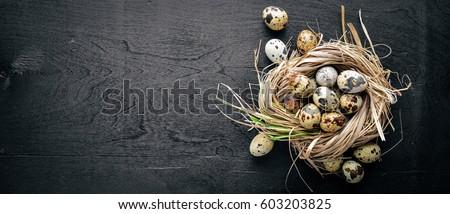 Húsvét tojások ünnepi tojás háttér Stock fotó © furmanphoto