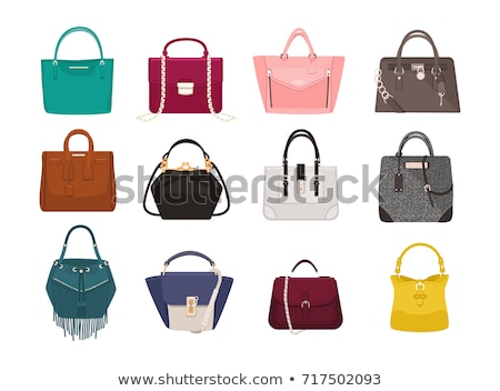 Collection of different women bags Stock photo © netkov1