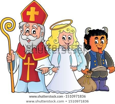 saint nicholas day theme 7 stock photo © clairev