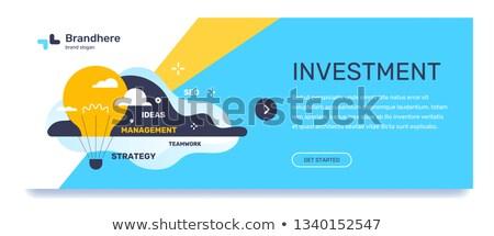 Teamwerk succes creatieve idee startup vector Stockfoto © robuart