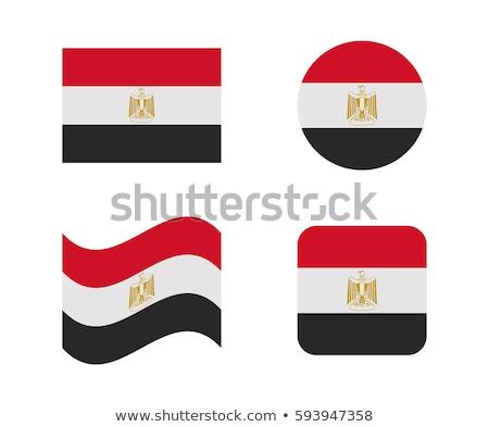Egypt Flag icon. Stock photo © zeffss