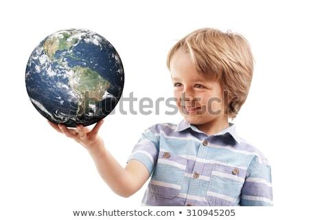 Foto stock: Mundo · mãos · muscular · nu · homem