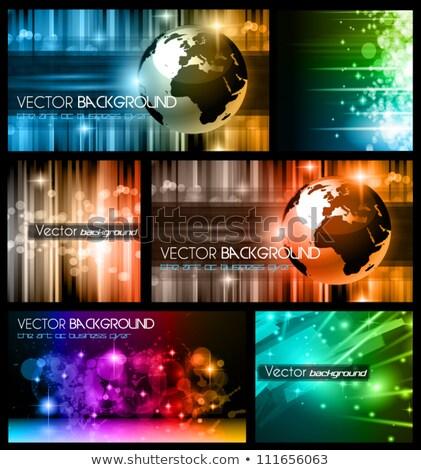 abstract · heldere · vector · wereld · kunst · web - stockfoto © davidarts