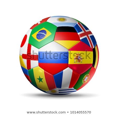 Football Colours Of England ストックフォト © Daboost
