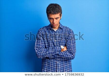 ストックフォト: 少年 · 笑顔 · 男 · 子 · 背景