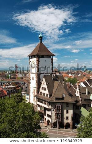 freiburg im breisgau at summer time stock photo © prill