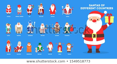 Santa is all set for Xmas celebrations Stock photo © stockyimages