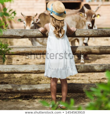 Child with Straw Hat Stock photo © photography33