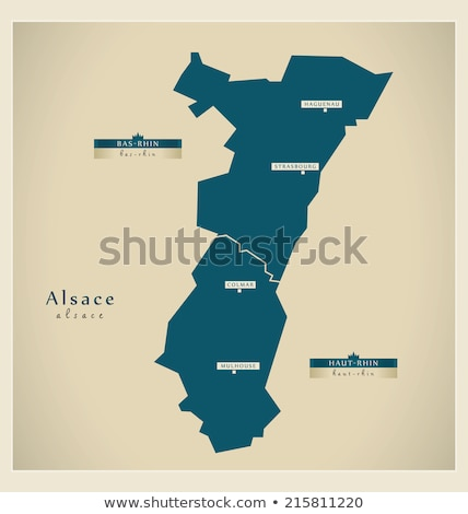 Harita Fransa bölge soyut arka plan iletişim Stok fotoğraf © Schwabenblitz