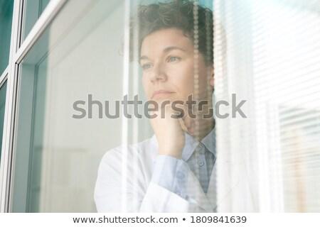 Portré üzletember nap álmodik néz tenger Stock fotó © wavebreak_media