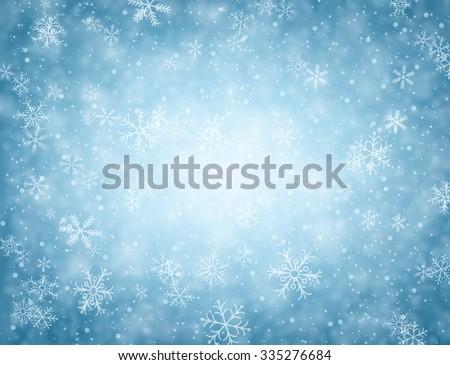 Snowflakes Background Stock photo © UPimages