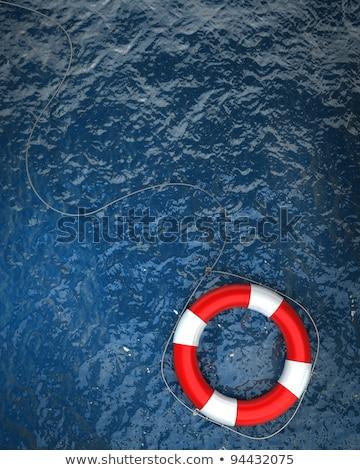 Rosso boa nave acqua riflessione luce Foto d'archivio © badmanproduction