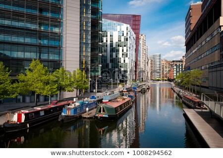 Paddington Basin in London Stock photo © chrisdorney
