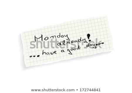 jó · boldog · fiatal · nő · megnyugtató · reggel · nő - stock fotó © maxmitzu
