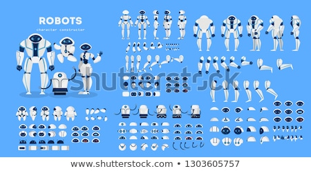 Posing Android Robot Stock photo © Kirill_M