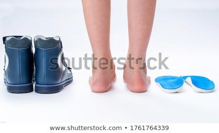 Flat feet Stock photo © wellphoto