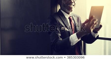 działalności · koledzy · multimedialnych · biuro · komputera - zdjęcia stock © stockyimages