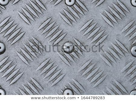 Fém építkezés terv ipari fekete acél Stock fotó © shawlinmohd