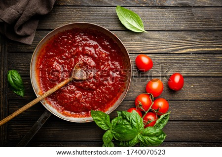 tomato sauce- ketchup Stock photo © M-studio