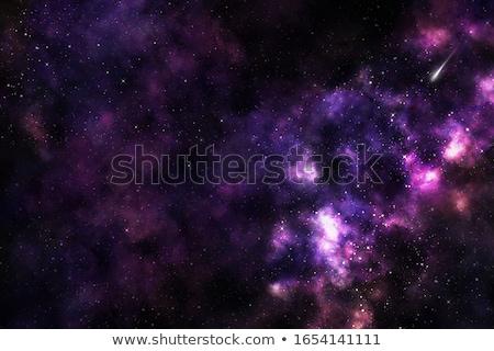 солнце планеты галактики пространстве карта фон Сток-фото © FrameAngel