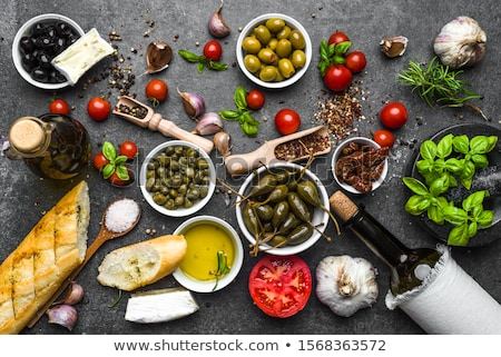 Mediterraneo dieta vino verdura frutta Foto d'archivio © godfer