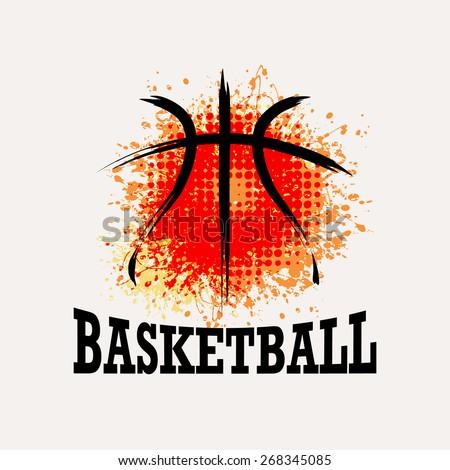 abstract basketball symbol design Stock photo © blaskorizov