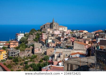 市 中世 建物 シチリア島 イタリア ストックフォト © Steffus