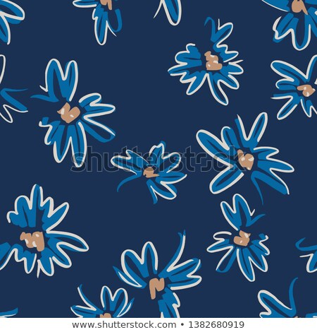A blue blooming flower Stock photo © bluering