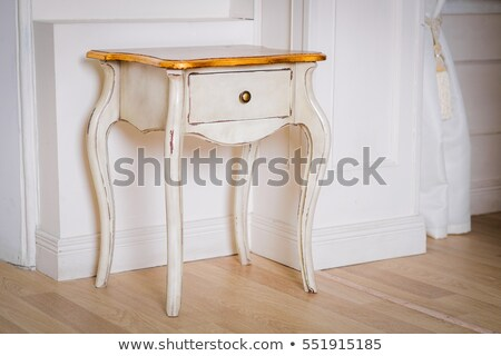 Light brown wooden chest of drawers Stock photo © Voysla
