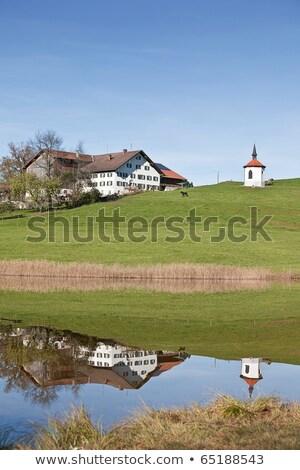 Ver cidade paisagem viajar outono blue sky Foto stock © dirkr