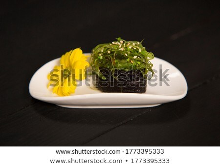 Gunkan Chuka Seaweed Stock photo © netkov1