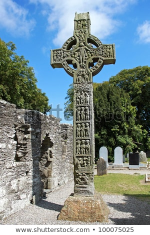 Monasterboice, County Louth, Ireland Stock photo © phbcz
