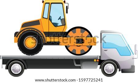 トラック トラクター 孤立した 実例 車 ストックフォト © bluering