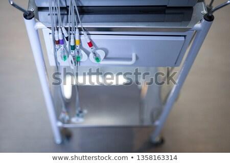 Görmek araba makine zemin hastane Stok fotoğraf © wavebreak_media