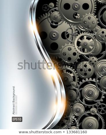 grafisch · ontwerp · abstract · vector · trechter · zwart · gat · mode - stockfoto © m_pavlov