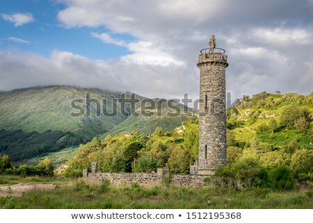 Glenfinnan Monument and Loch Shiel Stock photo © broker