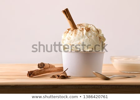 Cream container with glass stick Stock photo © shutswis