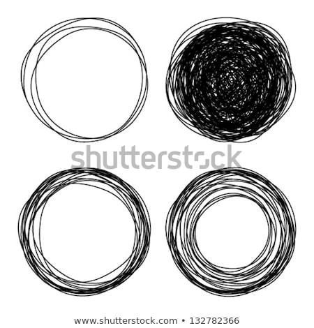 пусто круга стекла совета презентация рисунок Сток-фото © matteobragaglio
