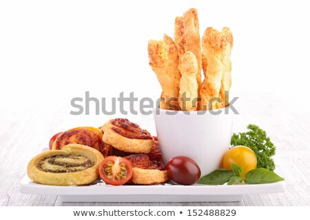 appetizer, salted twist and pinwheel Stock photo © M-studio