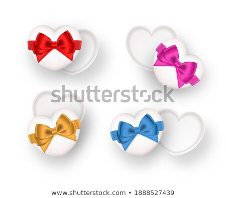 Hart ingericht kleuren liefde Stockfoto © tanya_ivanchuk