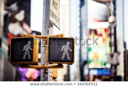 voetganger · niet · Rood · teken · bouwplaats - stockfoto © stevanovicigor
