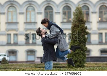 若い男 · ガールフレンド · 幸せ · いい - ストックフォト © DNF-Style