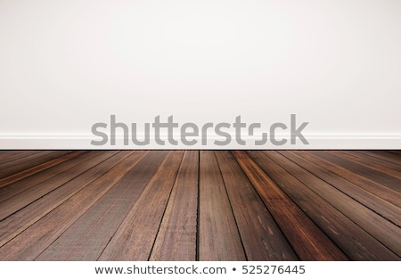 abstract mahogany floor on white Stock photo © taviphoto