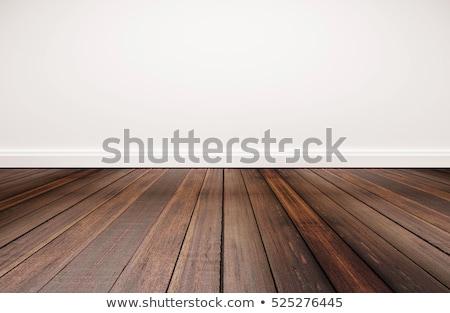 abstract mahogany floor on white Stock photo © taviphoto